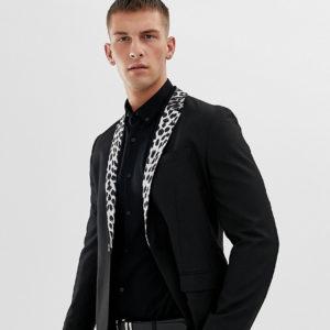 Comprar Americana ajustada con solapas de leopardo de Religion