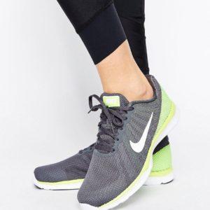 Comprar Zapatillas de deporte en gris y amarillo Volt Flex Supreme de Nike
