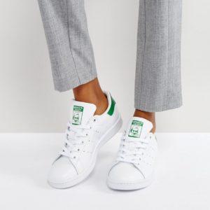 Comprar Zapatillas de deporte en blanco y verde Stan Smith de adidas Originals