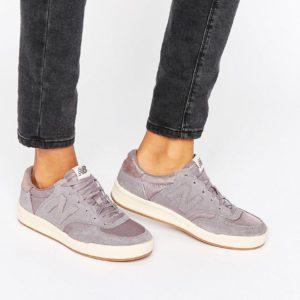 Comprar Zapatillas de deporte de ante grises con ribete metalizado 300 de New Balance