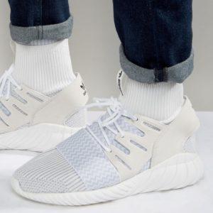 Comprar Zapatillas de deporte blancas Tubular Doom S80509 de adidas Originals