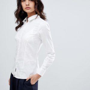 Comprar Camisa de manga larga de algodón elástico de ASOS DESIGN
