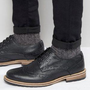 Comprar Zapatos Oxford de cuero negro Milled de Frank Wright