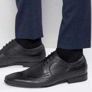 Comprar Zapatos Oxford negros con detalle en la puntera de Frank Wright