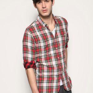 Comprar Camisa de manga larga de cuadros de doble cara de Lee 101