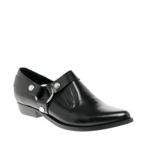 Comprar Zapatos planos de cuero con tiras MAX de ASOS