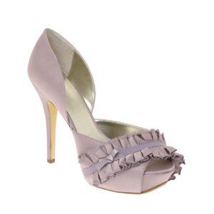 Comprar Zapatos peep toe con volante PEEP de ASOS