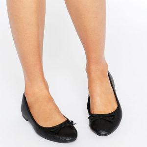 Comprar Bailarinas de ancho especial en cuero sintético de New Look