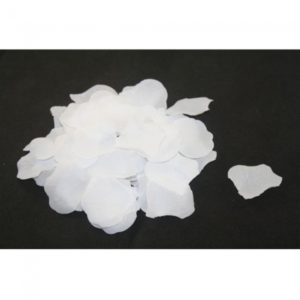 2000pcs Silk Rose Petals Wedding Flowers Favors White