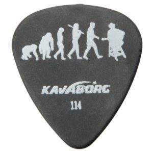 Flexible anti-desgaste de la roca de la serie Guitar Delrin Recogida KAVABORG-114