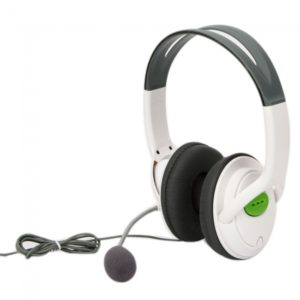 Vivir para auriculares micr¨®fono para Microsoft Xbox 360 Blanco