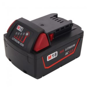 MIL-18V(A) 18V 4000mAh Rechargeable Li-ion Battery for Milwaukee 48-11-1840 M18