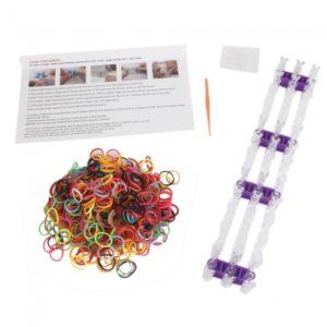 Bandas Rainbow Loom y Hook Loops Braclet Hacer Juegos Kit