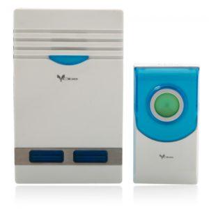 Z01-AC Intelligent Wireless Remote Control Music Doorbell Set EU Standard