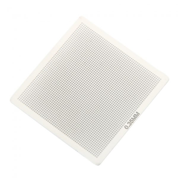 0.35mm Universal Directly Heated Stainless Steel Stencil Mesh Net Silver