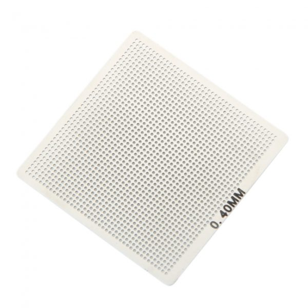 0.4mm Universal Directly Heated Stainless Steel Stencil Mesh Net Silver