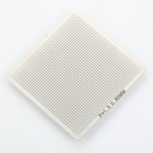 0.6mm Universal Directly Heated Stainless Steel Stencil Mesh Net Silver