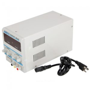 30V 3A DC fuente de alimentaci¨®n Digital ajustable Regulado 3003D