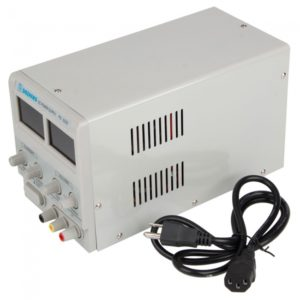 30V 3A DC fuente de alimentaci¨®n Digital ajustable Regulado 303D