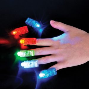 8 LED Finger Lights