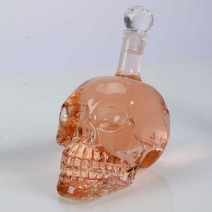 Crystal Head Vodka Skull Face Bone Glass Bottle 400ml