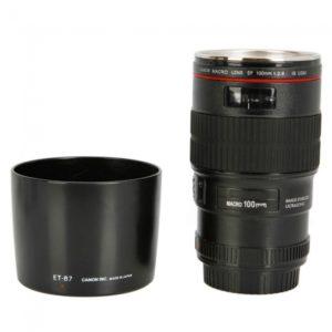 Macro Lens EF 100mm f/2.8L IS USM Drink Cup Mug for Canon