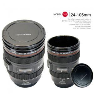 Multi-functional 24-105mm 4L Camera Lens Shaped Coffee Mug Cup