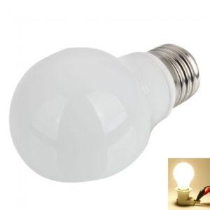 P55 E27 5W 6 SMD LED 3000-3200K bombilla blanca caliente 100-240V