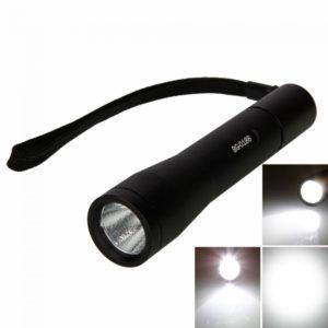 PALIGHT BG 0188 2x16340 CREE Q5 LED de 5W 280LM linterna Negro