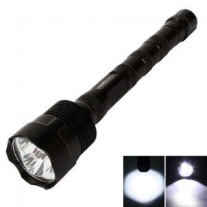 TrustFire T6 3800LM de la luz blanca del CREE XM-L antorcha linterna LED