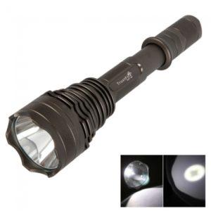 TrustFire SST-50 6W 1300 Lumen 5 modo de linterna LED Antorcha Negro