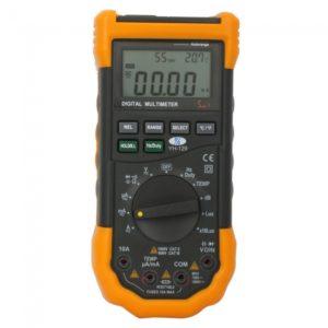 YH-129 3 3 4 Mini multifunci¨®n LCD Digital AC DC Mult¨ªmetro
