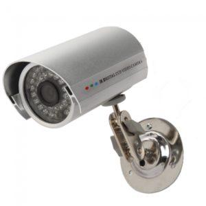 LED 36IR c¨¢mara de seguridad a prueba de agua de plata HD CMOS 380TVL 1/3