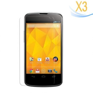 3Pcs Mirror Screen Protector for LG Nexus4 E960