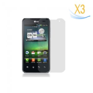 3Pcs Screen Protector for LG P990
