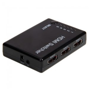 5 Port HDMI Cable Switch Switcher Selector Splitter