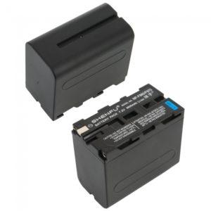7.2V 6600mAh Shenfu Bater¨ªa de Litio para Sony NP-F960 / 970