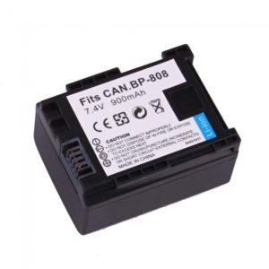 900mAh BP 808 Battery for Canon FS11 FS20 FS31 FS30 FS200