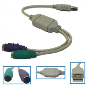 USB To Mouse Keyboard Converter Cable Adapter