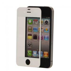 Lente de cristal de la pantalla t¨¢ctil para el iPhone 4 Blanco