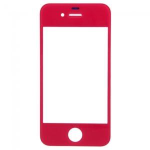 Lente de cristal reemplazo de la pantalla frontal para iPhone 4S Rose