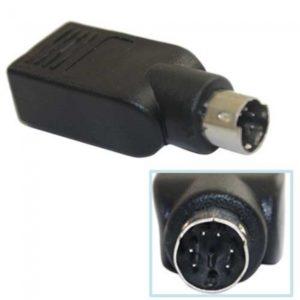 USB a PS2 PS / 2 para teclado adaptador convertidor Rat¨®n