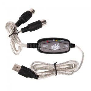 USB to MIDI Converter Cable for Keyboard Interface