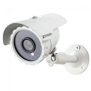 Zmodo CMOS 600TVL Color 24-LED 20M IR Waterproof Security Bullet Camera White