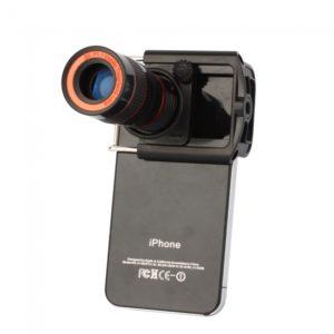 8X ¨®ptica del telescopio del zumbido de la lente de la c¨¢mara para el iPhone