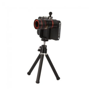 8X Telescope Camera Lens with Tripod Stand for iPhone 4 4S