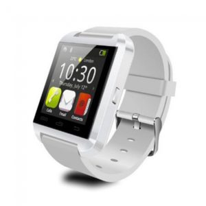 U8 U Watch Bluetooth Smart Watch for iPhone 6 Samsung HTC Smartphones White