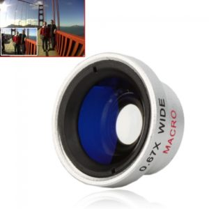 Universal Wide Angle Macro Lens for Digital Cameras CellPhones