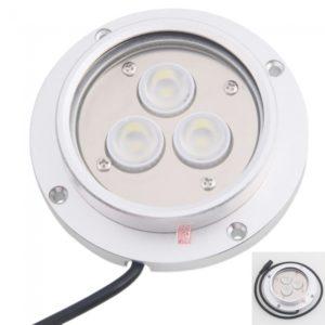 De pared redondo Junta Tipo de luz blanca de la l¨¢mpara 3 LED