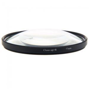 Lente digital 77mm 8 zoom macro Primer plano Filtra Fronteriza Transparente